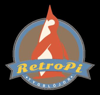 RetroPi tygblöjor bambublöjor hampablöjor logo